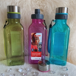 10089-4 Бутылочка пластиковая 1000 мл, 3 вида