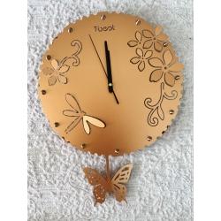 309-10 Б Часы, металл