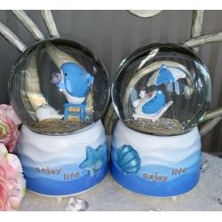 2003-11 Музыкальный снежный шар с автоподдувом, 2 вида