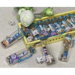 3004-11 Бутылочки с пожеланиями, 12 шт