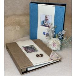 1937-7 Фотоальбом на 20 маг. листов, 2 вида