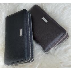 5082-5 Мужской кошелек-клатч на 2 молнии, 2 вида