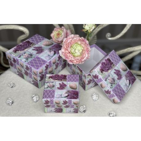 1048-19 Набор подарочных коробок из 3 шт.