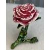 1015-2 Шкатулка металич. Роза