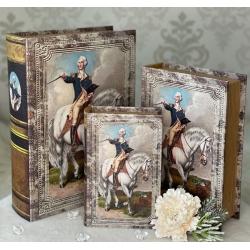 330-5 Книга-шкатулка НАПОЛЕОН 3шт.