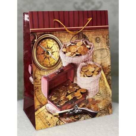 355-3 пакет подарочный