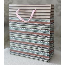 52-4 Пакет подарочный, 20-24-8 см