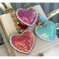 10076-8 Брелок Сердце, 3 вида