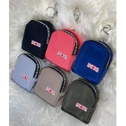 10091-2 Брелок-рюкзак, 6 видов