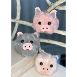 7001-1,2,3 Брелок Свинка