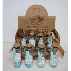 1021-3 Бутылочки с пожеланиями, 12 шт.